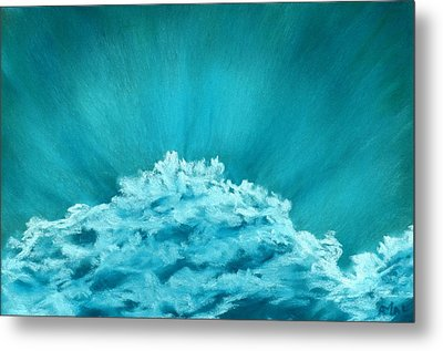 Wave Cloud - Sky And Clouds Collection Metal Print