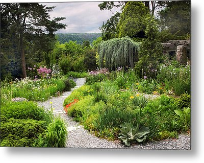 Wave Hill Spring Garden Metal Print by Jessica Jenney