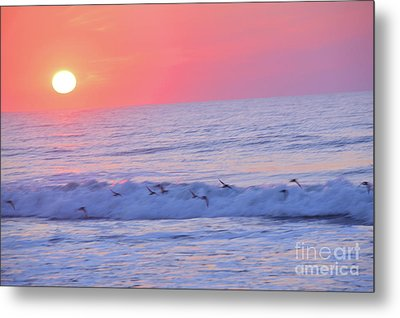 Wave Of Gratitude Nature Art Metal Print by Robyn King