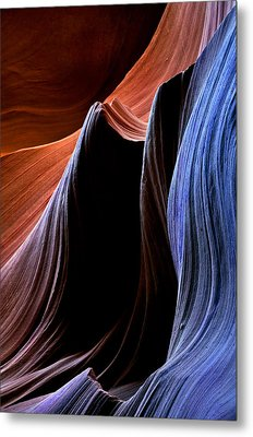 Waves Metal Print by Mike  Dawson
