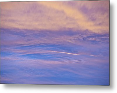 Metal Print featuring the photograph Waves Of Color by Wanda Krack