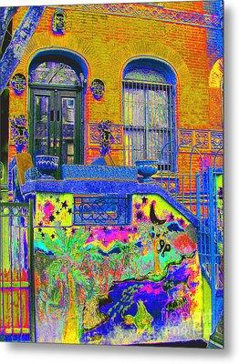 Wax Museum Harlem Ny Metal Print by Steven Huszar