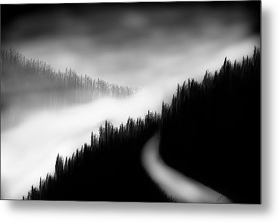 Way To The Unknown Metal Print