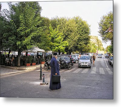Metal Print featuring the photograph Ways To Stop Traffic  by Connie Handscomb