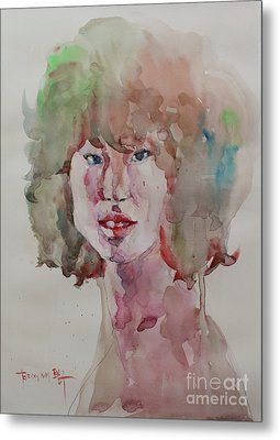 Self Portrait 1623 Metal Print by Becky Kim