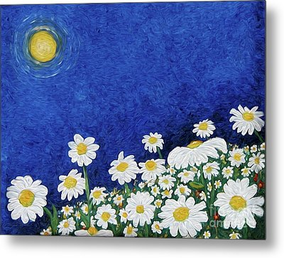 We Are Daisies Metal Print