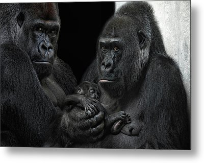 We Are Family Metal Print