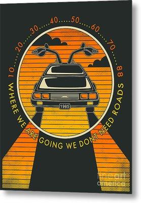We Dont Need Roads Metal Print