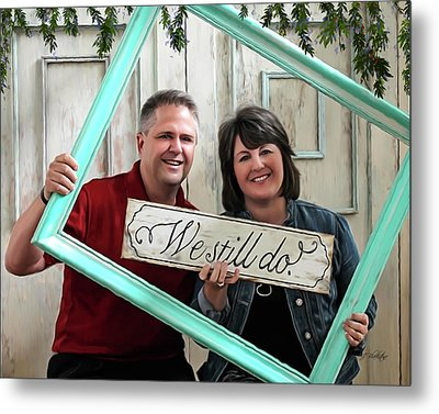 We Still Do - Special Commission Metal Print