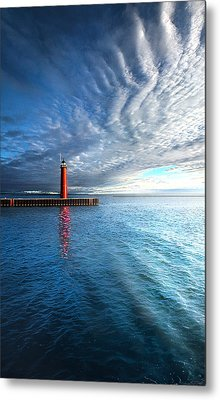 We Wait Metal Print by Phil Koch