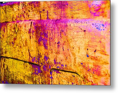 Wear And Tear Of Life Metal Print by Jan Amiss Photography