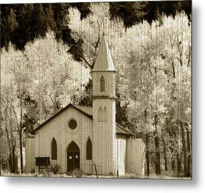 Weathered House Of Worship Metal Print by Kevin Munro