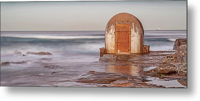 Metal Print featuring the photograph Weathered In Time by Az Jackson