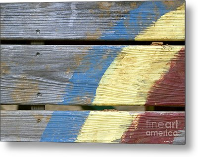 Weathered Metal Print by Jeannie Burleson
