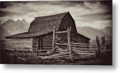 Metal Print featuring the photograph Weathered Peaks by Lana Trussell