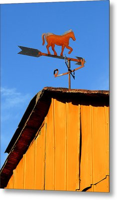 Weathervane Metal Print by Robert Lacy