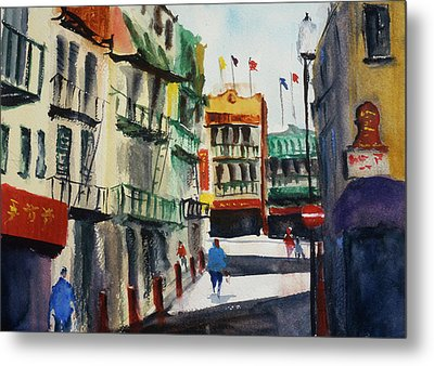 Waverly Place Metal Print