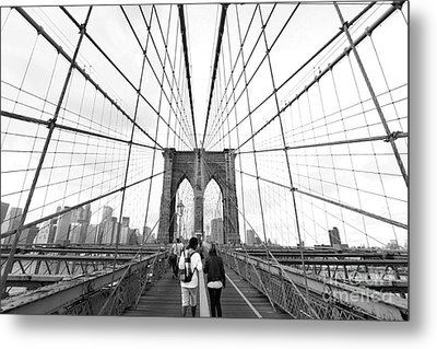 Web Of Love Metal Print by Andrew Serff