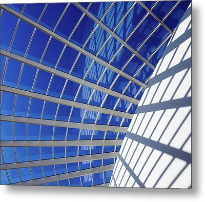 Metal Print featuring the photograph Web by Stefan Nielsen