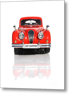 Wedding Car Metal Print