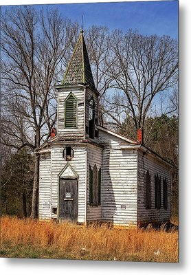 Metal Print featuring the photograph Wedding Chapel by Alan Raasch