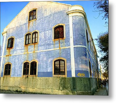 Weeping Windows Metal Print
