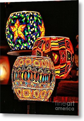 Metal Print featuring the photograph Weihnachtslichter IIi by Jack Torcello
