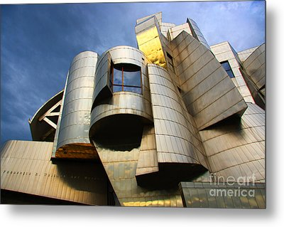 Weisman Art Museum University Of Minnesota Metal Print by Wayne Moran