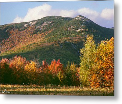 Welch And Dickey Mountains Metal Print by Nancy Griswold