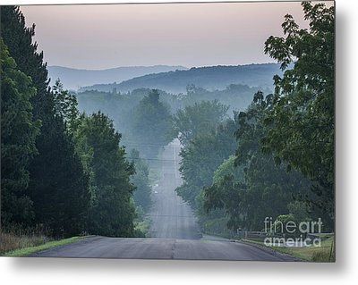 Welch Road In Glen Arbor Metal Print by Twenty Two North Photography