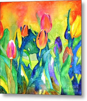 Welcome Spring #1 Metal Print by Betty M M   Wong
