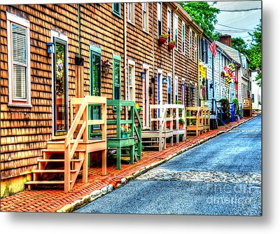 Welcome To Annapolis Metal Print by Debbi Granruth