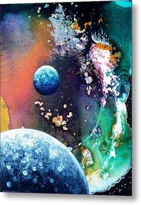 Welcome To Cydonia Metal Print by Lee Pantas