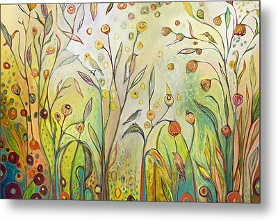 Welcome To My Garden Metal Print