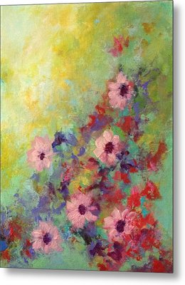 Welcoming Spring Metal Print by Suzzanna Frank