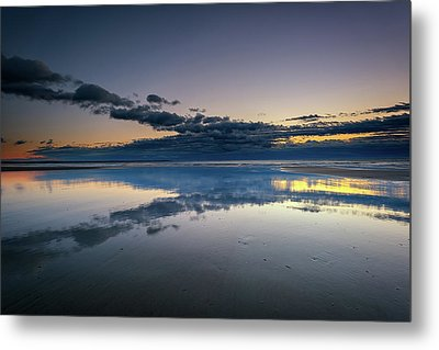 Metal Print featuring the photograph Wells Beach Reflections by Rick Berk
