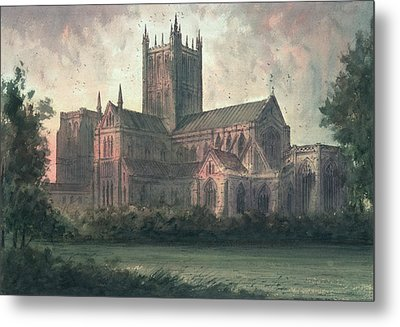 Wells Cathedral Metal Print by Paul Braddon