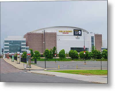 Wells Fargo Center - Home Of The Flyers And Sixers Metal Print