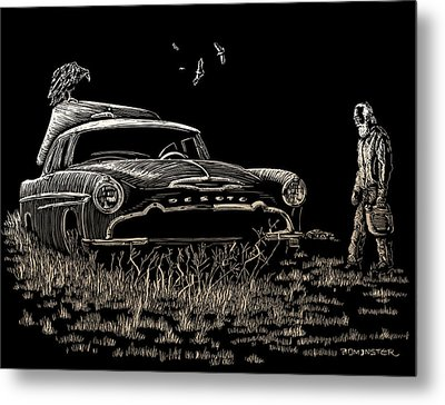 Went For Gas Metal Print by Bomonster