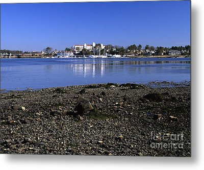 Wentworth By The Sea Hotel - New Castle New Hampshire Usa Metal Print by Erin Paul Donovan