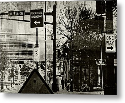 Metal Print featuring the photograph West 7th Street by Susan Stone