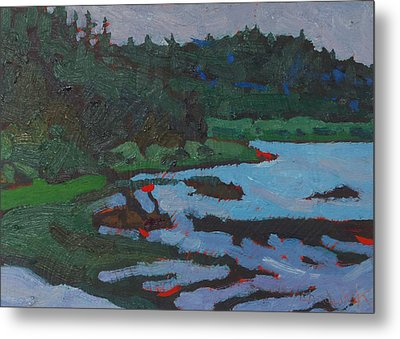 West Bank Portage Metal Print