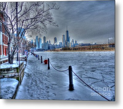 West From Navy Pier Metal Print