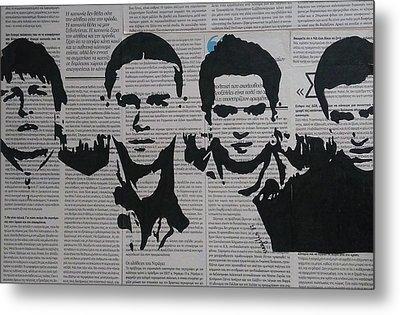 West Ham United Fans Metal Print by Vagelis Karathanasis