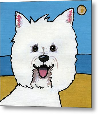 West Highland Terrier Metal Print