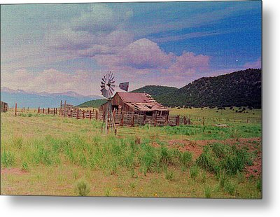 Westcliff Colorado Metal Print by Patricia Greer