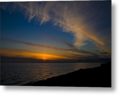 Westcoast Sunset Metal Print by Naman Imagery