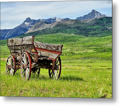 Metal Print featuring the photograph Western Exposure by Blair Wainman