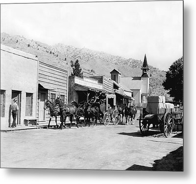 Western Film Still Metal Print by Underwood Archives