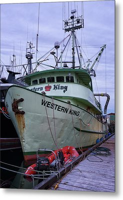 Metal Print featuring the photograph Western King At Discovery Harbour by Randy Hall